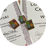 Long volunteer service awards